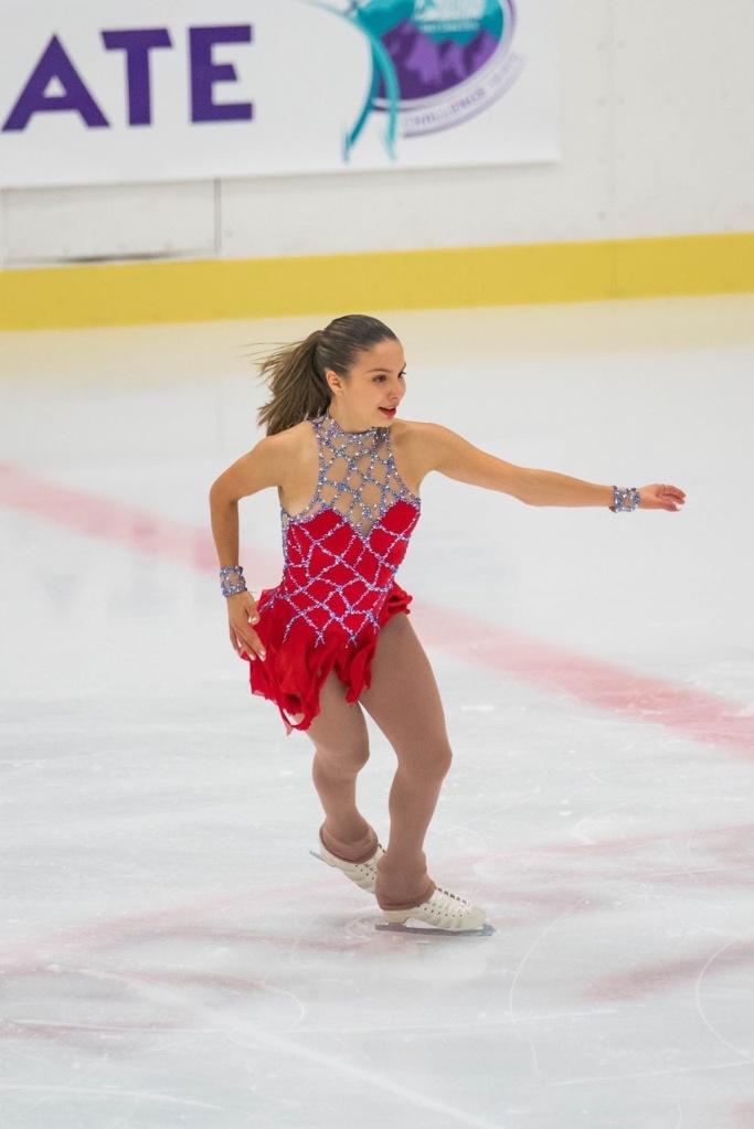 Andrea Montesinos, entrevista a la campeona nacional mexicana de patinaje artístico sobre hielo antes de Beijing 2022